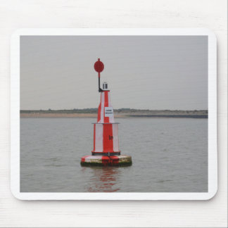 Safe Channel Bouy River Crouch Mouse Pad