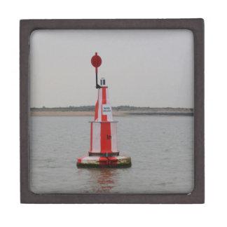 Safe Channel Bouy River Crouch Premium Trinket Box