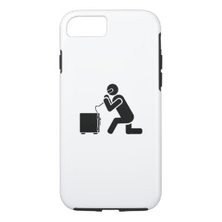 Safe Cracking Pictogram iPhone 7 Case