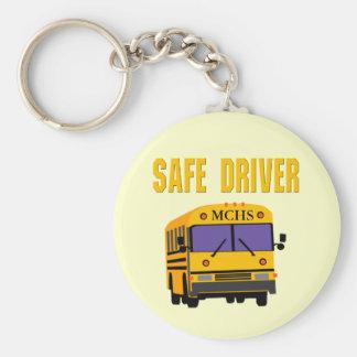 Safe Driver School Bus Driver Keyring Key Chains