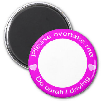 Safe driving and Careful driving Magnets