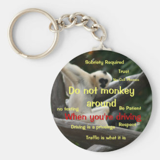 Safe Driving Key Chain for Teenagers