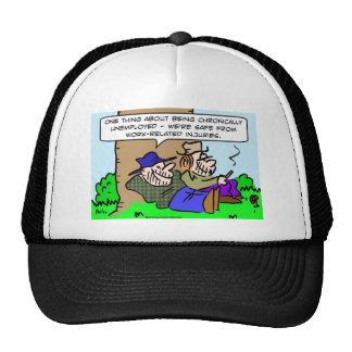 safe from work related injury mesh hat