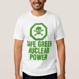 Safe Green Nuclear Power - Avocado Green T Shirt