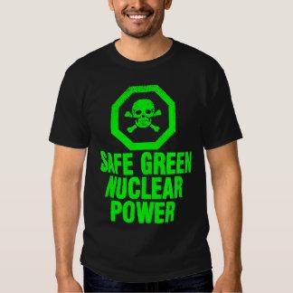 Safe Green Nuclear Power T Shirt