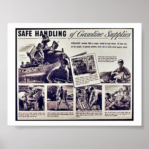 Safe Handling Posters