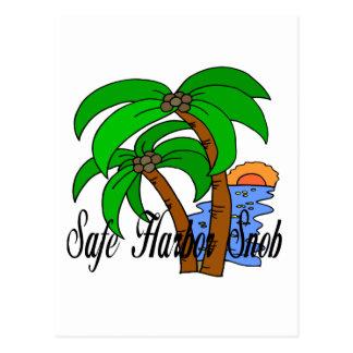 Safe Harbor Snob different designs Postcard