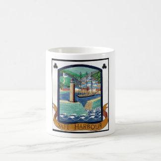 Safe Harbour, Fowey Coffee Mug