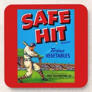 Safe Hit Coaster