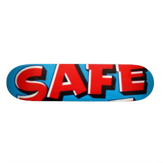 Safe Hit Texas Vegatables Custom Skateboard