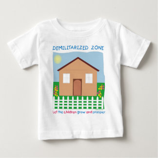 Safe House Demilitarized zone save the children Baby T-Shirt