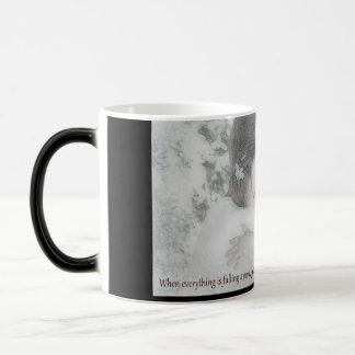 Safe in his arms magic mug