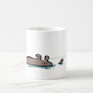 safe in the water classic white coffee mug
