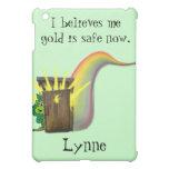 Safe Leprechauns Gold iPad Mini Case