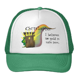 Safe Leprechauns Gold, Trucker Hat