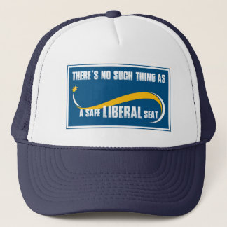 Safe Liberal Seat Trucker Hat