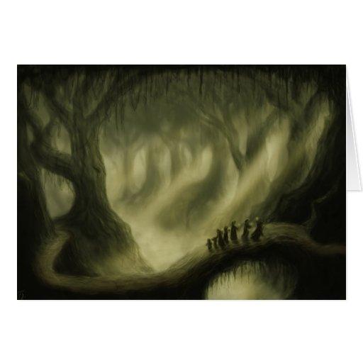 safe passage fantasy art notecard