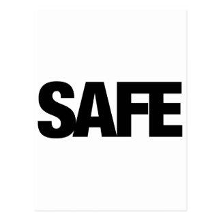Safe Postcard