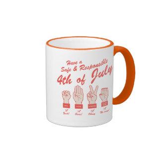 Safe & Responsible 4th Ringer Mug