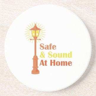 Safe & Sound Drink Coasters