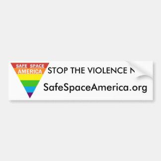 Safe Space America Bumper Sticker