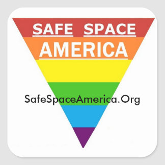 Safe Space America Sticker