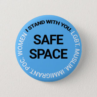 Safe Space for Everyone Button