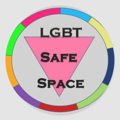 Safe Space LGBT Stickers