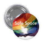 Safe Space Pin Buttons