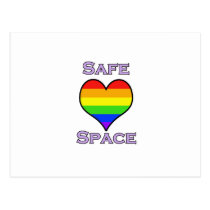 Safe Space Postcard