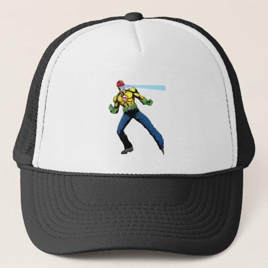 "Safe-T-Man ""Bring it on!"" Trucker Hat"