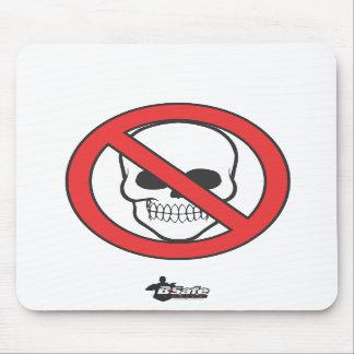 Safe-T-Man - Chest Logo Mouse Pads