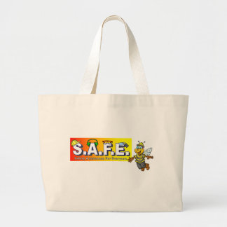 SAFE with bee Canvas Bags