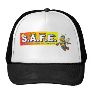 SAFE with bee Trucker Hat
