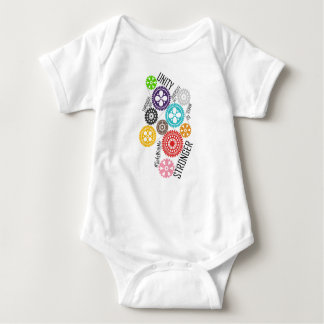 Safe With Me Cogs Baby Bodysuit