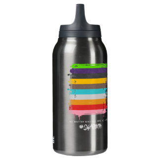 Safe With Me Flag Dark Sigg Hot & Cold Bottle