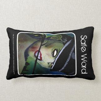 Safe Word Lumbar American MoJo Pillow