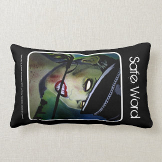 'Safe Word' (Lumbar) American MoJo Pillow