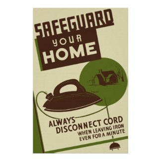 Safeguard Your Home Poster