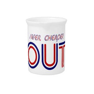 Safer Out Beverage Pitcher