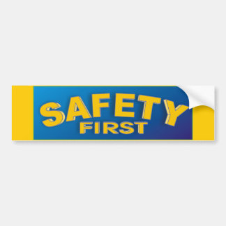 Safety 1st bumper sticker