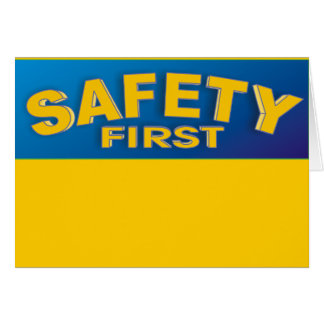 Safety 1st card