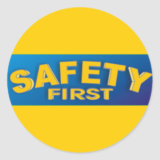 Safety 1st classic round sticker