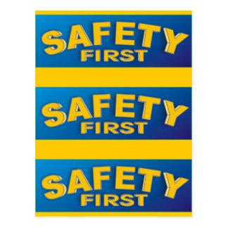 Safety 1st postcard