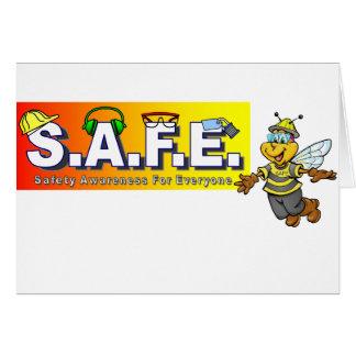Safety Awareness Items Card