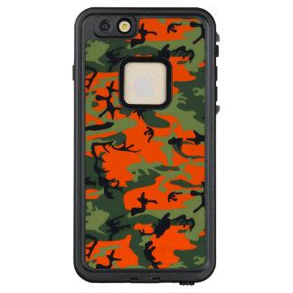 Safety Blaze Orange and Green Camo LifeProof FRĒ iPhone 6/6s Plus Case