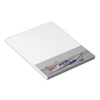 Safety Boat Memo Notepads