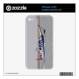 Safety Boat iPhone 4S Skins