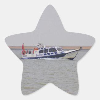 Safety Boat Star Sticker