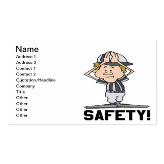 Safety Business Cards